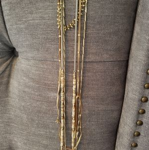 Stella and Dot Aven layeing 4 in 1 necklace